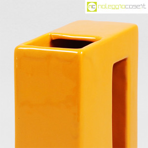 Vaso parallelepipedo color ocra (7)
