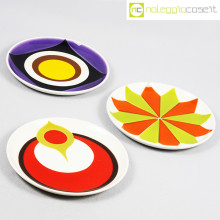 Mancioli Ceramiche piatti serie Beat set 01