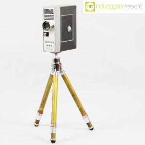 Yashica, videocamera 8-ES su cavalletto Bilora (1)