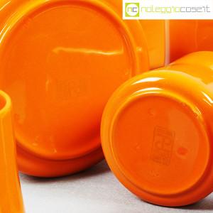 Ceramiche Franco Pozzi, brocca con bicchieri arancione, Ambrogio Pozzi (9)