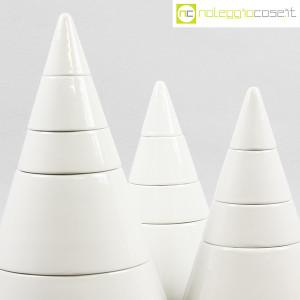 Ceramiche Franco Pozzi, set da tavola componibile Cono, Pierre Cardin (6)