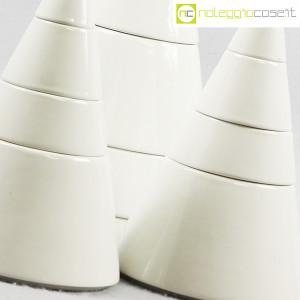 Ceramiche Franco Pozzi, set da tavola componibile Cono, Pierre Cardin (8)