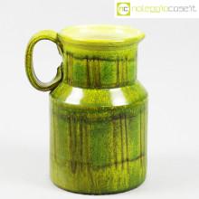 Tasca Ceramiche brocca versatoio verde
