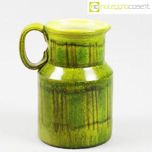 Tasca Ceramiche, brocca versatoio verde, Alessio Tasca (1)