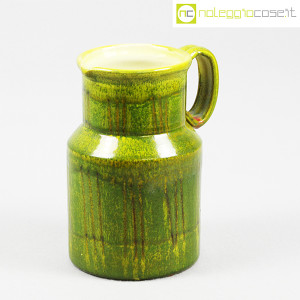 Tasca Ceramiche, brocca versatoio verde, Alessio Tasca (2)