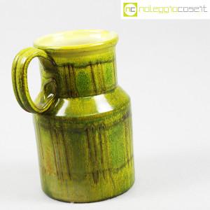 Tasca Ceramiche, brocca versatoio verde, Alessio Tasca (3)
