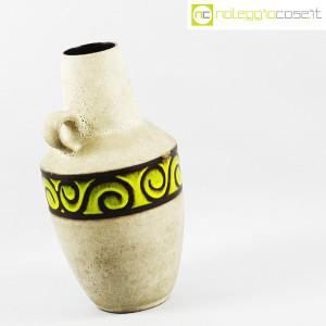 Vaso anfora in gres con decoro verde (3)
