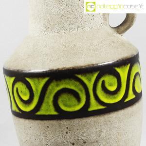 Vaso anfora in gres con decoro verde (5)