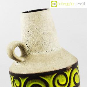 Vaso anfora in gres con decoro verde (6)