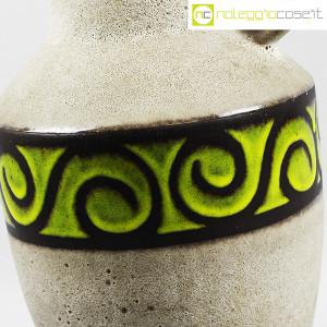 Vaso anfora in gres con decoro verde (8)