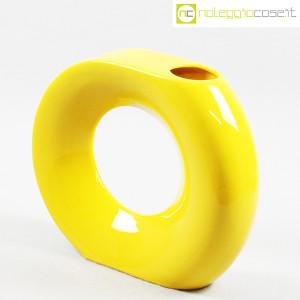 Vaso giallo grande con foro (2)