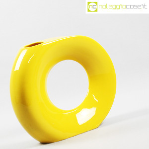 Vaso giallo grande con foro (3)