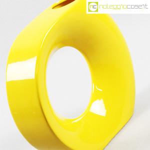 Vaso giallo grande con foro (6)