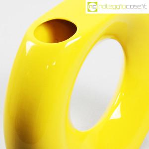 Vaso giallo grande con foro (8)
