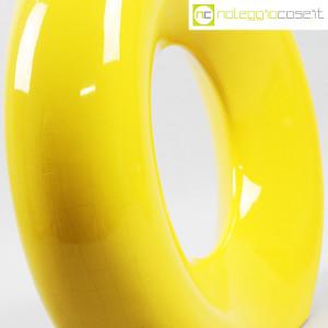 Vaso giallo grande con foro (9)