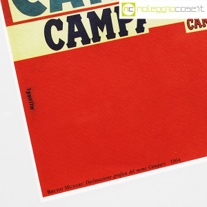 Bruno Munari, Declinazione grafica del nome Campari (9)