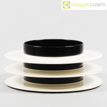Casigliani set bianco nero Massimo Vignelli