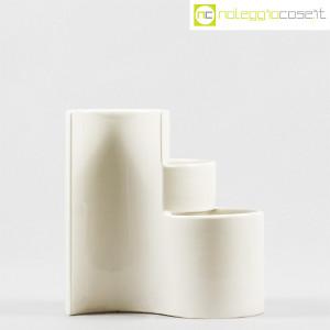 Ceramiche Brambilla, vaso a spicchi bianco, Giotto Stoppino (2)