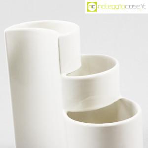 Ceramiche Brambilla, vaso a spicchi bianco, Giotto Stoppino (5)