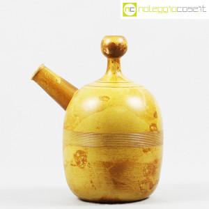 Ceramiche Franco Pozzi, brocca gialla informale, Ambrogio Pozzi (2)