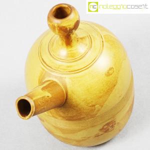 Ceramiche Franco Pozzi, brocca gialla informale, Ambrogio Pozzi (4)
