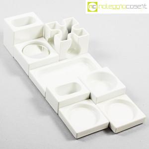 Ceramiche Franco Pozzi, set Ensemble bianco, Pierre Cardin (4)