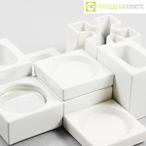 Ceramiche Franco Pozzi, set Ensemble bianco, Pierre Cardin (6)