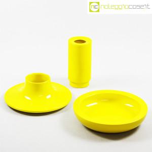 Ceramiche Franco Pozzi, set ceramiche componibili GIALLO, Ambrogio Pozzi (5)