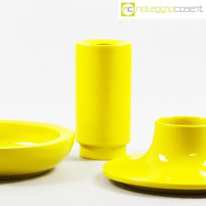Ceramiche Franco Pozzi, set ceramiche componibili GIALLO, Ambrogio Pozzi (6)