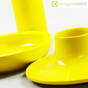 Ceramiche Franco Pozzi, set ceramiche componibili GIALLO, Ambrogio Pozzi (7)