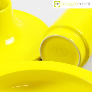 Ceramiche Franco Pozzi, set ceramiche componibili GIALLO, Ambrogio Pozzi (8)
