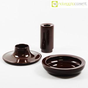 Ceramiche Franco Pozzi, set ceramiche componibili MARRONE, Ambrogio Pozzi (1)