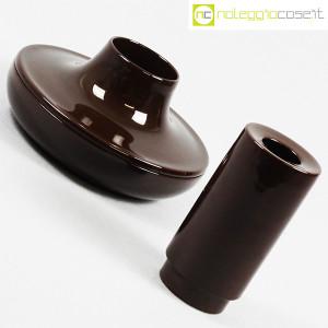 Ceramiche Franco Pozzi, set ceramiche componibili MARRONE, Ambrogio Pozzi (5)