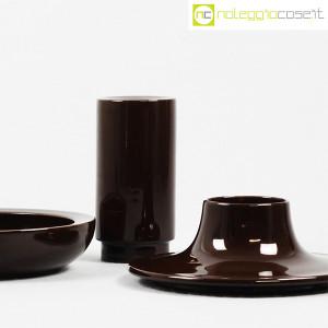 Ceramiche Franco Pozzi, set ceramiche componibili MARRONE, Ambrogio Pozzi (6)