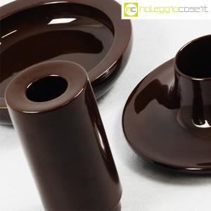 Ceramiche Franco Pozzi, set ceramiche componibili MARRONE, Ambrogio Pozzi (7)