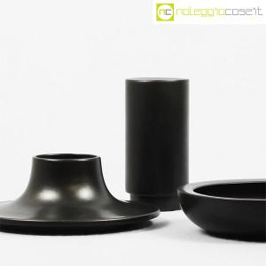 Ceramiche Franco Pozzi, set ceramiche componibili NERO, Ambrogio Pozzi (6)