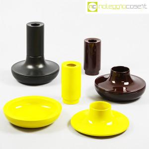 Ceramiche Franco Pozzi, set ceramiche componibili NERO, Ambrogio Pozzi (9)