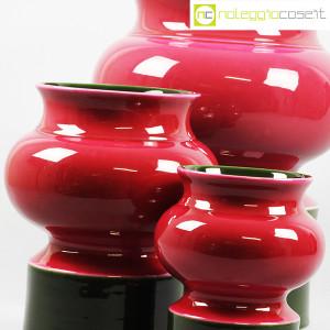 Ceramiche Franco Pozzi, set vasi viola e verde, Ambrogio Pozzi (7)