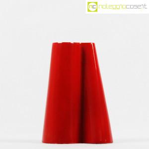 Danese Milano, vaso serie Tremiti rosso, Angelo Mangiarotti (2)