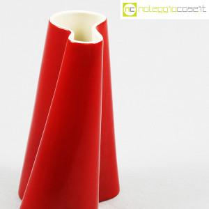 Danese Milano, vaso serie Tremiti rosso, Angelo Mangiarotti (5)
