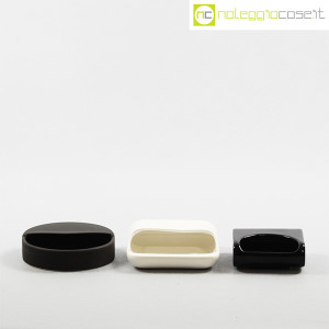 Gabbianelli, set posacenere bianco e nero (2)