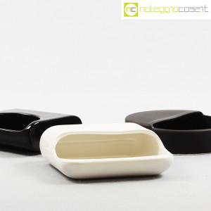 Gabbianelli, set posacenere bianco e nero (6)