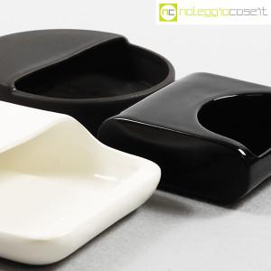 Gabbianelli, set posacenere bianco e nero (8)