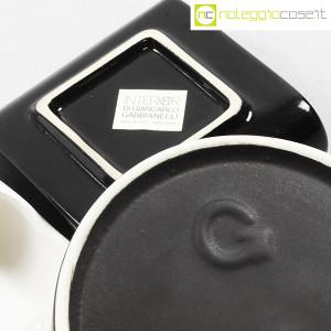 Gabbianelli, set posacenere bianco e nero (9)