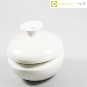 Il Picchio, vaso bianco con strozzatura, Enzo Bioli (3)