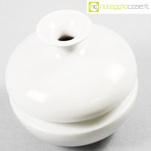 Il Picchio, vaso bianco con strozzatura, Enzo Bioli (4)