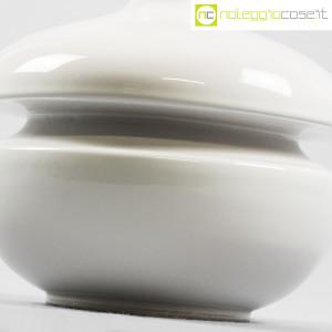 Il Picchio, vaso bianco con strozzatura, Enzo Bioli (5)