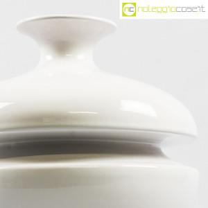 Il Picchio, vaso bianco con strozzatura, Enzo Bioli (6)