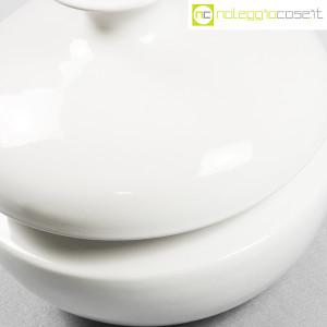 Il Picchio, vaso bianco con strozzatura, Enzo Bioli (7)