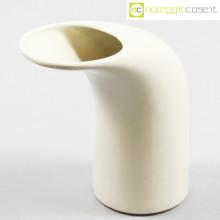 Parravicini Ceramiche vaso bianco a becco